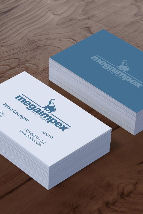 Дизайн на визитна картичка.